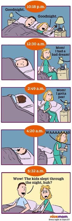 Herkenbaar #slaaptekort #gender