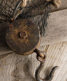 Look at this Round Block & Tackle Pulley on #zulily today!