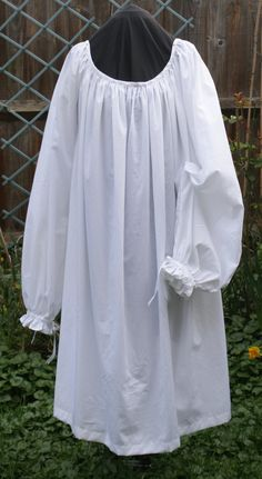 Renaissance 16th Century Cotton Chemise Historical Costume  Period Clothing for Juliet Dress Underwear for SCA LARP