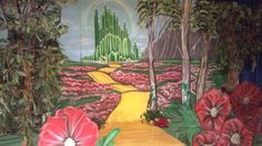 Good Wizard Of Oz Set Mural Part 24
