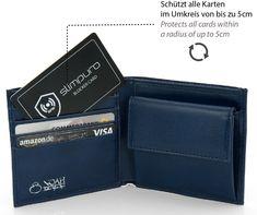 7e84d4f0be767 RFID Blocker NFC Schutzkarte - Störsender - Eine Karte schützt die gesamte  Geldbörse vor Datendiebstahl -
