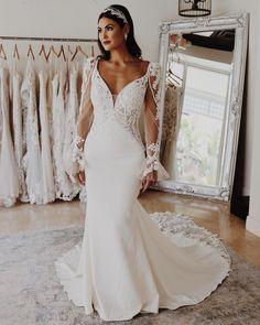 Unique long sleeve lace wedding dresses #MaggieSottero #wedding #weddingdress #weddinginspo #weddinginspiration #uniqueweddingdress #longsleeveweddingdress #sleeveweddingdress #laceweddingdress Wedding Dress Sleeves, Wedding Dresses, Dress Making, Bridal Gowns, Lace Wedding, Wedding Inspiration, Stylists, Long Sleeve, Unique