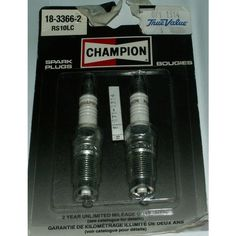 2 New Champion Spark Plug NIP Reach Hex Listing in the Spark Plugs & Glow Plugs,Ignition System,Cars Parts & Accessories,Parts & Accessories,Cars & Vehicles Category on eBid Canada Car Parts, Truck Parts, Plugs, New Champion, Ignition System, Spark Plug, Glow, Canada, Trucks