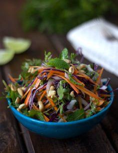 Olga Sofia Pérez - Como reconocer los antioxidantes y una ensalada vietnamita ( crocante y refrescante )
