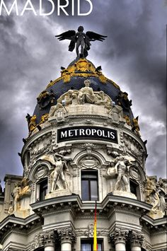 I worked in Madrid,