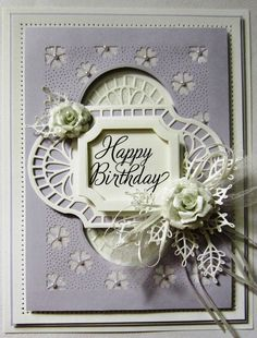 PartiCraft (Participate In Craft): Sparkly Background Birthday Card