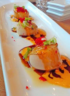 Delicious Scallops at Sake sushi & grill- Schaumburg, IL   By Miss Maehym Photography!