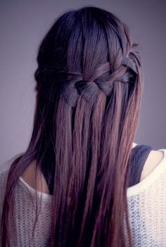 Half Waterfall - Cute and Easy Everyday Braids - Livingly