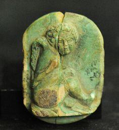 APHRODITE- ANCIENT ROMAN BONE RELIEF OF EROS | eBay