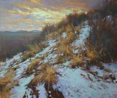 Barbara Jaenicke, A Higher Calling, oil, 20 x - Southwest Art Magazine Small Paintings, Easy Paintings, Beautiful Paintings, Landscape Paintings, Landscapes, Oil Painting Tips, Painting Snow, What's The Big Idea, Higher Calling