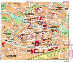 Frankfurt Map Tourist Attractions Frankfurt Germany Pinterest