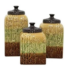 1000 images about my tuscan taste on pinterest tuscan for Hearth and home designs canister set