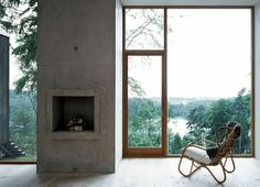 Forester's House And Service Building By Petra Gipp Architecture