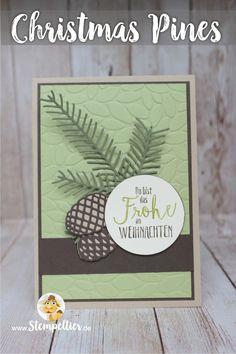 stampin up christmas pines card by stempeltier Tannenzauber Weihnachten 2016…