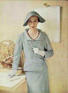 Jean Patou Outfit - 1953L'Officiel De La Mode