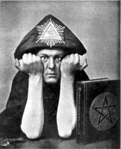 Aleister Crowley, 1875-1947, British occultist and writer, founder of the Thelema religion