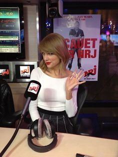 Taylor on Le Grand Journal