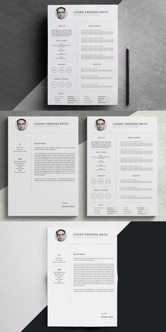 Resume and cover letter template indesign indd editable in word resume cover letter template spiritdancerdesigns Image collections
