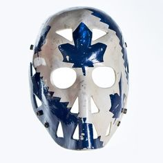 Hockey Hall of Fame ( Maple Leafs Hockey, Hockey Hall Of Fame, Goalie Mask, Best Masks, Masked Man, Hockey Stuff, Toronto Maple Leafs, Sports Art, Ice Hockey