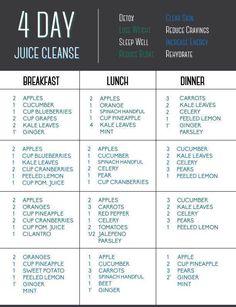 4 day juice detox