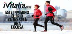 ¡Vivan los locos de los #HábitosSaludables! Ni frío ni ná :) ¿Quién dijo miedo? Los #iVitalios, no #iVitalia.com