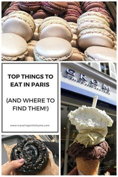 Top 21 Things To Eat In Paris (And Where To Find Them!) – Traveling with Thyme - Top 21 Things To Eat In Paris (And Where To Find Them!) – Traveling with Thyme Les images impressi - Disneyland Paris, Paris France, Paris In February, Paris Travel Guide, Travel List, Travel Goals, Travel Packing, Solo Travel, Budget Travel
