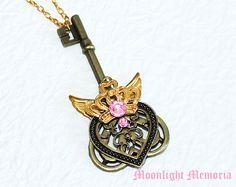 Sailor Moon Necklace Kaleido Moon Scope by MoonlightMemoria, $49.00