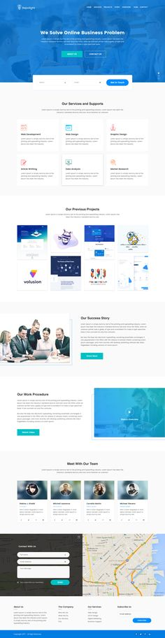 Repolight - Business Consult Sketch Template by SparkRaxx | ThemeForest