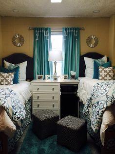 Ole Miss Crosby dorm room