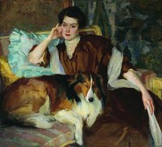 Braz, Osip (1873-1936) - 1907 Zena by RasMarley, via Flickr