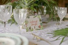 """Mariage """"Colonial Jungle"""" -  @chrystelle33"""