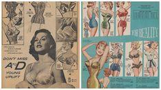 vintage lingerie ads