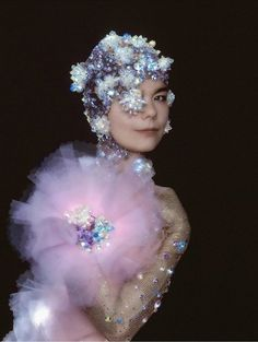 Bjork. She is just so unique, so gorgeous!