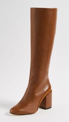 dff4daf85a8 Dear Frances Elle Knee Boots Office Outfits Women