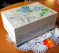 Hortencia  azules