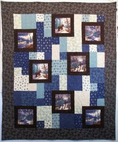 Winter Forest Flannel Perfect Ten Quilt Kit
