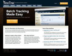 un esempio di mini/micro sito, una via di mezzo tra il layout classico ed una landing page con poche possibilità di fare click su tanti link.