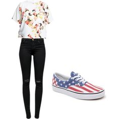 Untitled #9 by carausudiana on Polyvore featuring polyvore beauty Vince Camuto J Brand Vans