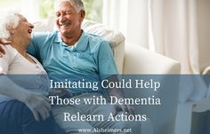 Imitating Could Help Those with Dementia Relearn Actions