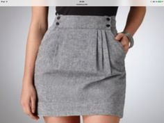 Skirt Pleated Mini Clothing Trendy Ideas Source by ideas skirt Work Skirts, Cute Skirts, Mini Skirts, Skirt Outfits, Cool Outfits, Casual Outfits, Mode Inspiration, Diy Clothes, Casual Looks