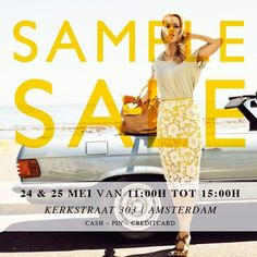 Fab. sample sale -- Amsterdam -- 24/05-25/05