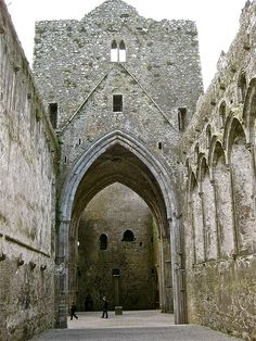 fieldsinireland:    The Rock of Cashel 08 by smilla4 on Flickr.