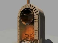 10 - Manual de horno económico - YouTube Build A Pizza Oven, Diy Pizza Oven, Oven Diy, Four A Pizza, Wood Oven, Wood Burning Crafts, Rocket Stoves, Bbq, Indoor
