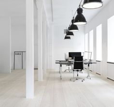 Another great office to work in. With Dinesen Douglas floor.