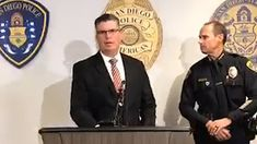 San Diego Police hold a press conference about alleged murder-suicide Daily Mail News, Farm Hero Saga, Conference, San Diego, Sons, Police, Husband, My Son, Boys