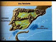 Formación del relieve de la Península Ibérica.