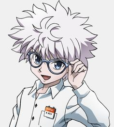 Hunter x Hunter & Coolens Glasses - Killua Zoldyck