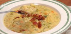 There's nothing heartier than a great traditional potato soup. So how could we possibly make it better? Like this.