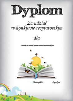 Dyplomy na różne okazje - Ponad Wszystko Teaching English Grammar, Birthday Cards, Clip Art, Classroom, Education, School, Creative, Crafts, Bday Cards