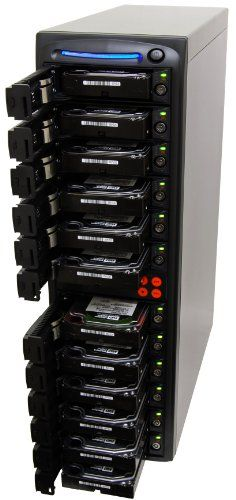 SySTOR 1:11 SATA Hard Disk Drive / Solid State Drive (HDD/SSD) Clone Duplicator/Sanitizer (SYS1011HS)